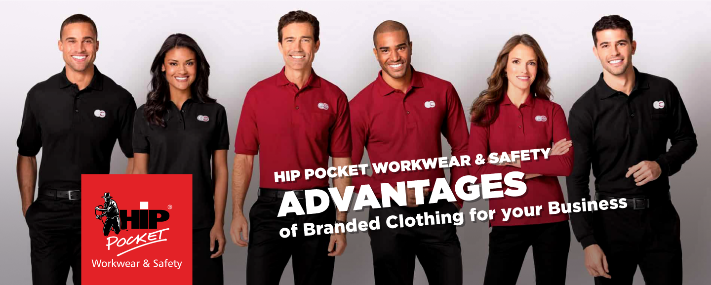 ADVANTAGES of Branded Clothing for your Business - banner