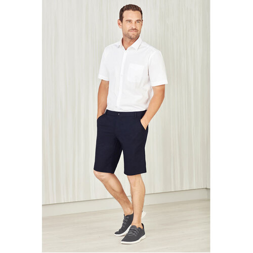Hip Pocket Workwear - Mens Comfort Waist Cargo Shorts