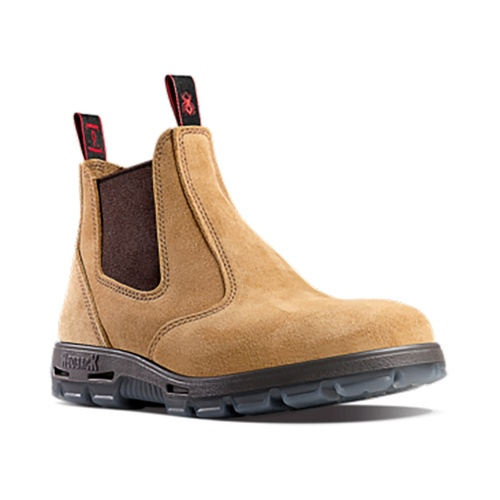 Hip Pocket Workwear - Bobcat Banana Suede Non Safety Boot